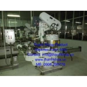 Máy ghép mí lon (Varin - 400) - Máy tự động 4 đầu ghép